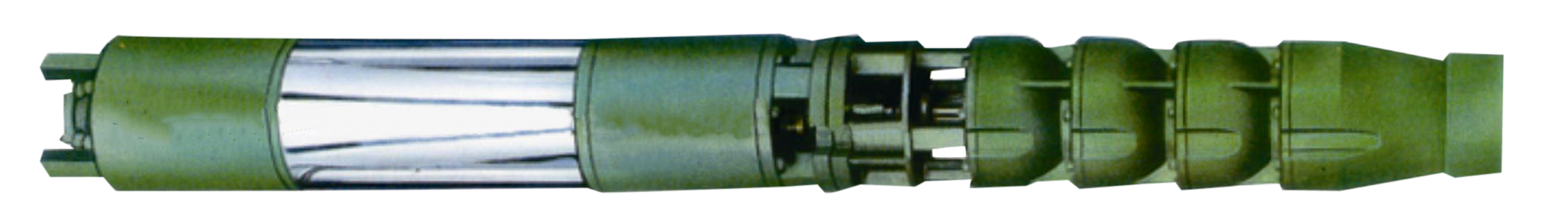 Глубинный насос ЕЦВ для подачи воды из скважин