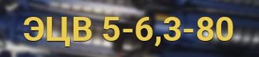 Расшифровка маркировки ЭЦВ 5-6,3-80 нрк